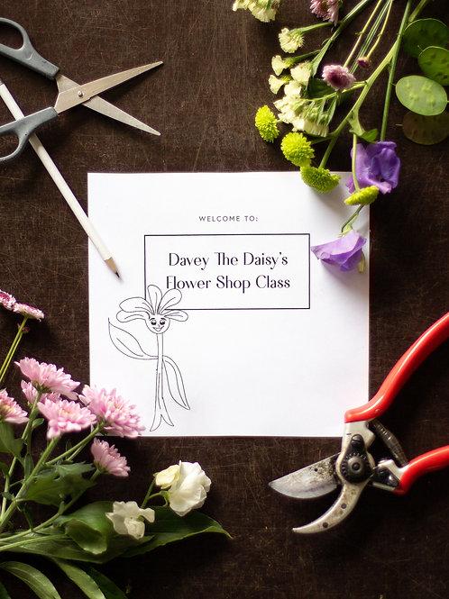 Grade 5 - 7 Flower Shop Printable