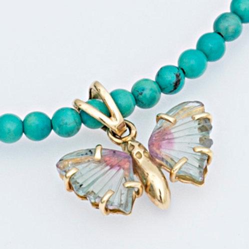 K18YG papillon NECK