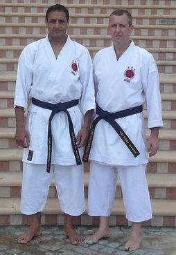 Sensei Sahota And Mr Tyers