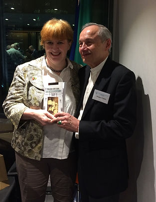 Author Patricia O'Sullivan, Mr Dennis Clarke