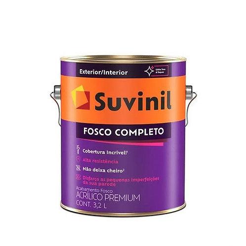 Tinta Acrilico Fosco Completo Branco 3,6 litros - Suvinil