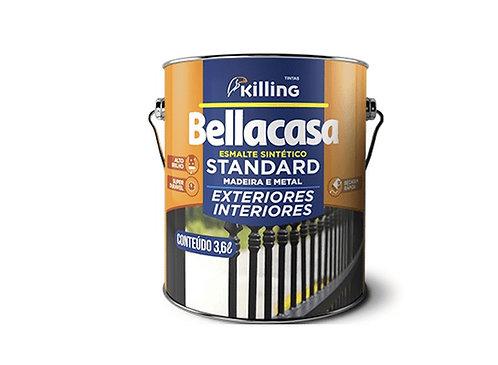 Tinta Bellacasa Esmalte Brilhante Standard Branco 3,6L