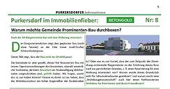 Purkersdorf im Immobilienfieber - Baustopp - Liste Baum!