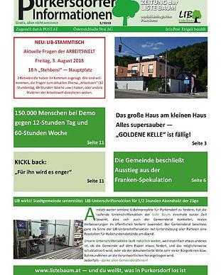 purkersdorf, frankenspekulation, listebaum, demo, kickl, stammtisch