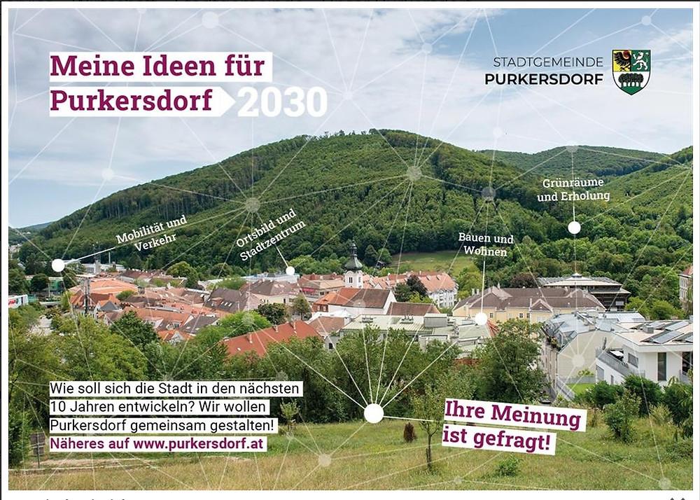 Wie soll Purkersdorf in 10 Jahren aussehen?