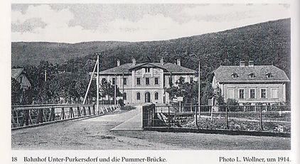 Bahnhof Unter Purkersdorf 1914