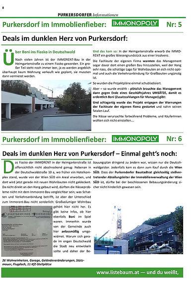 Baustopp Purkesdorf Immobilien Liste Baum & Gruene
