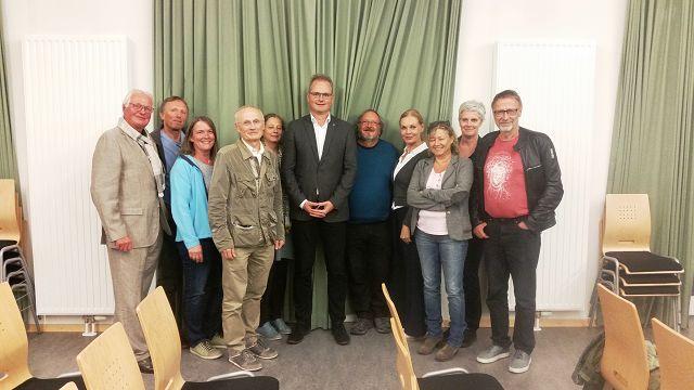 Dr. Hackländer + Liste Baum & Grüne
