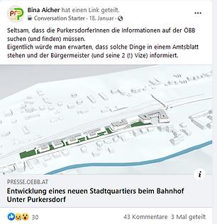 Facebook ÖBB Purkersdorf