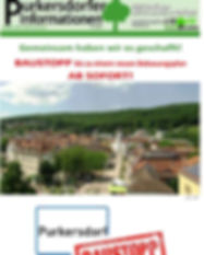 Purkersdorfe Informationen, baustopp, liste baum , grüne,