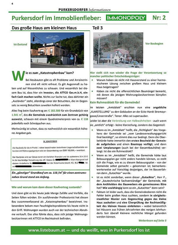 Betongold Purkersdorf Liste Baum Schlögl