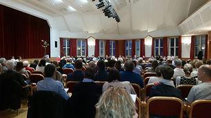Purkersdorf Gemeinderatssitzung voller Saal