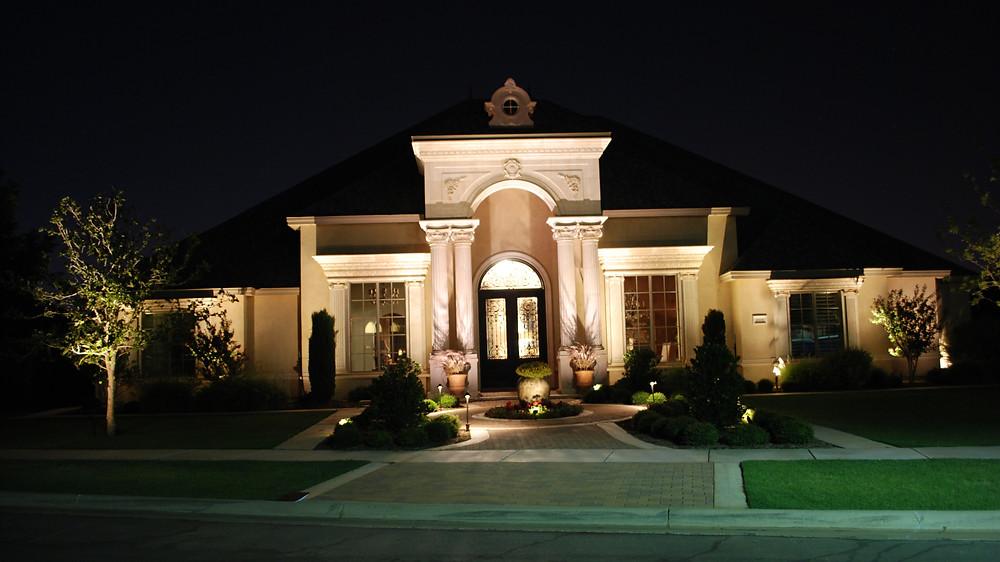West Texas Outdoor Living Home Lighting