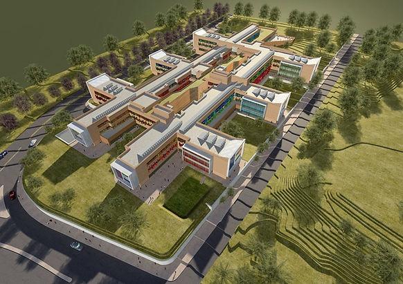 Concept Design Of All Hospital Facility