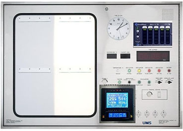 1- Stainless Steel Surgical Control Pane