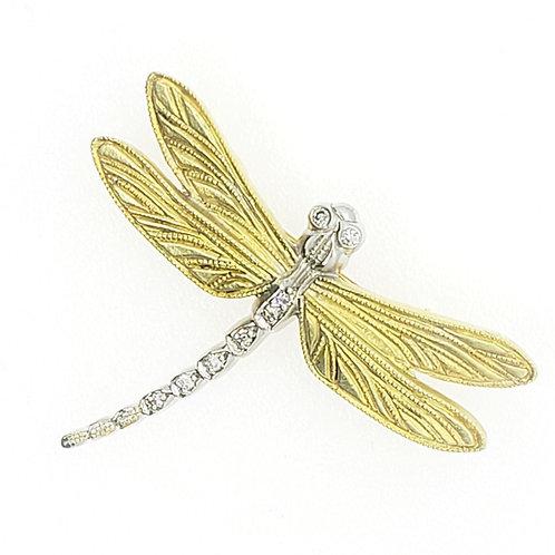 Dragonfly brooch/pin