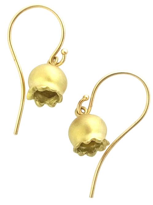 Lily of the Valley drop earrings