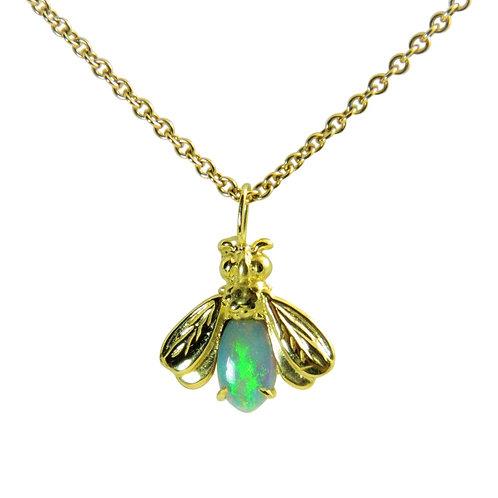 Firefly Opal necklace