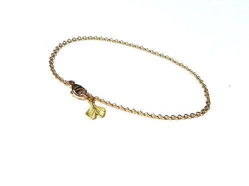 Petite Baby Ginkgo drop Bracelet