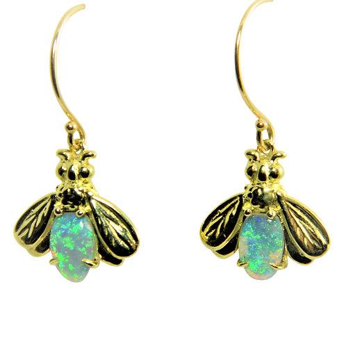 Firefly Opal earrings