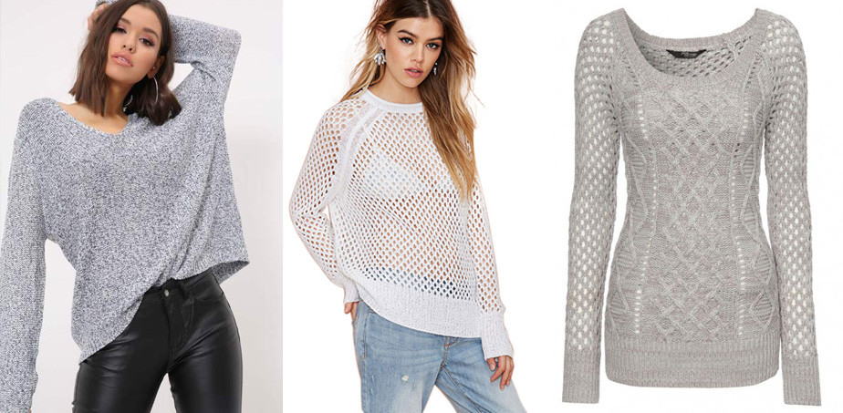 Mesh winter jumpers
