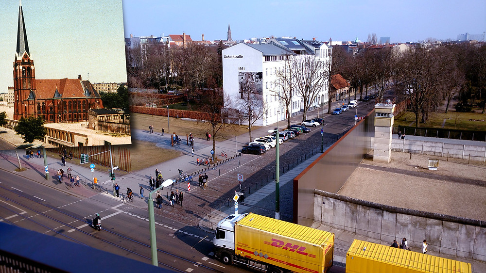 Then and Now Berlin Bernauer Strasse