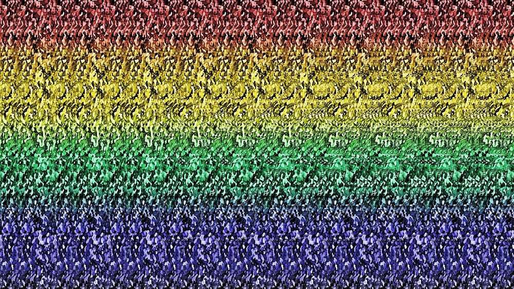 Magic-eye Stereogram Picture