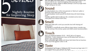 Using Your 5 Senses To Create A Nightly Routine For Improved Sleep