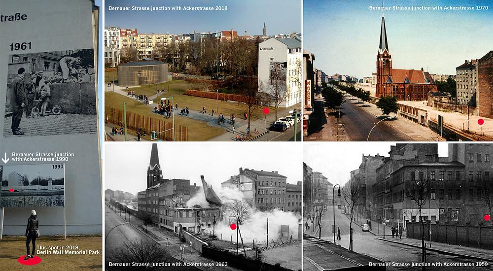 Bernauer and Ackerstrasse Berlin