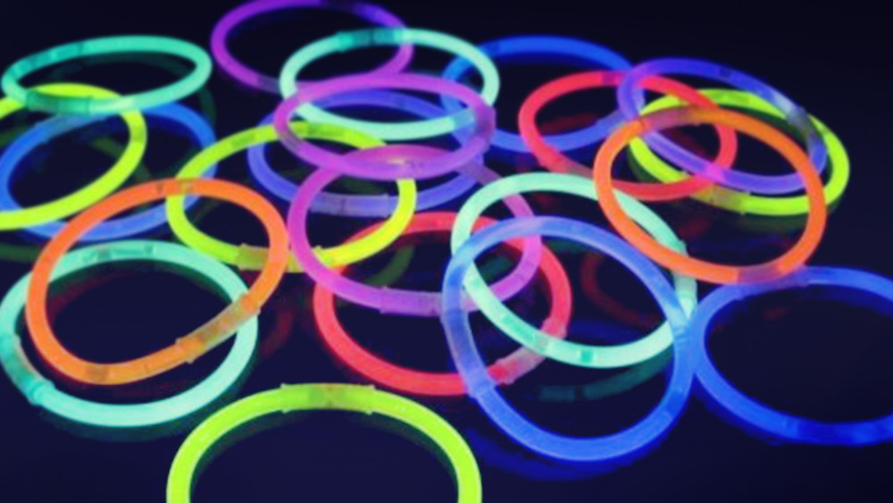 Recycled glow-sticks