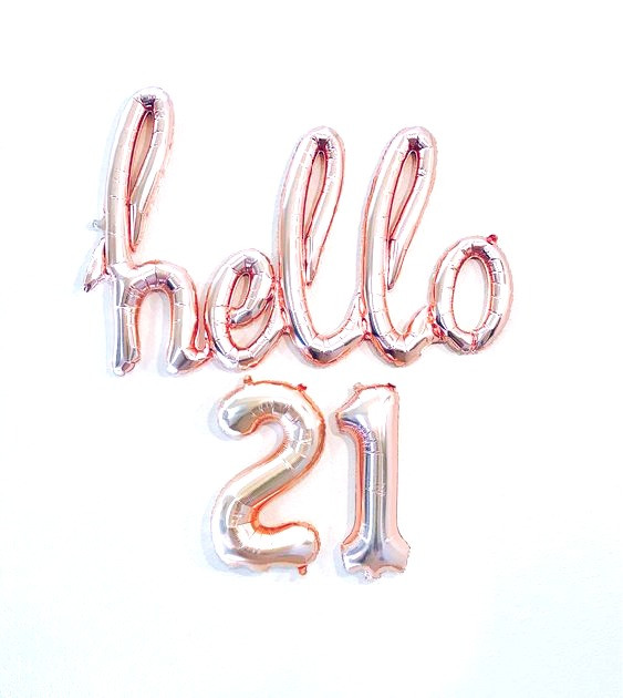 21 THINGS I'VE LEARNED AT 21!