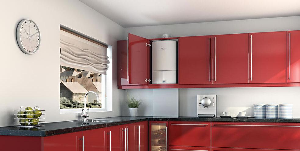 Kitchen boiler central heating