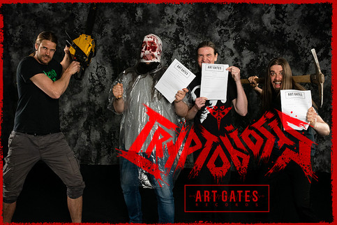CRYPTOBIOSIS SIGNS WORLDWIDE RECORD DEAL WITH ART GATES RECORDS. NEW ALBUM IN 2021!
