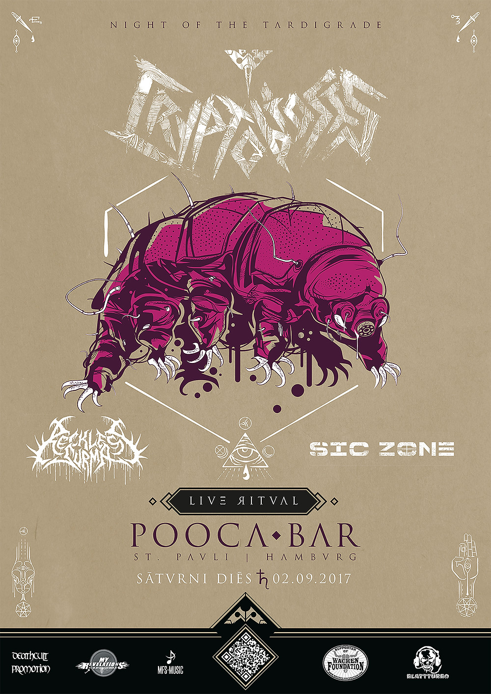 Night of the Tardigrade | Cryptobiosis live at Pooca Bar
