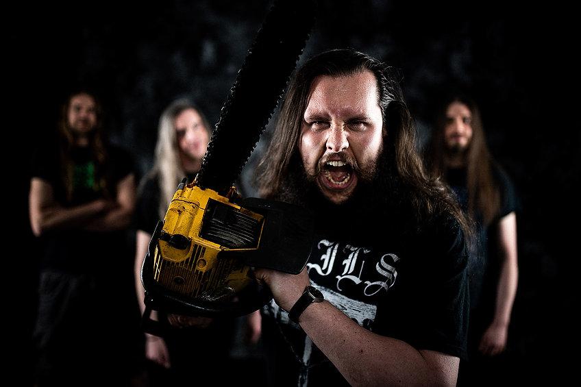 Cryptobiosis Metal Band 2021, Photo: Kevin Winiker