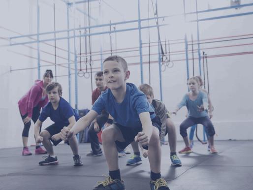 CROSSFIT FOR KIDS + TEENS