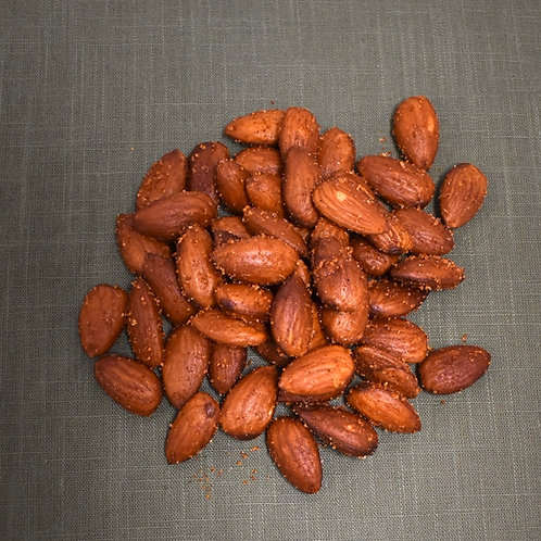 Chili Lemon Almonds