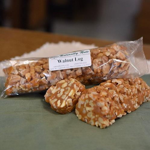 Caramel Walnut or Pecan Log