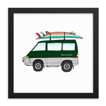 1991 Mitsubishi Delica & Travel Quiver