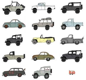 Rad Cars X ICON