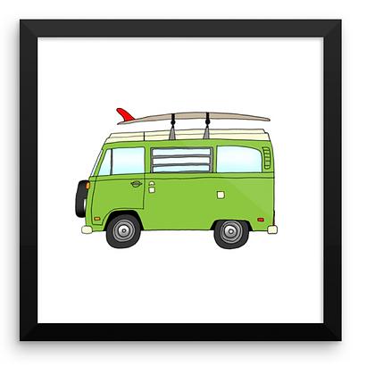 VW Westfalia & Log