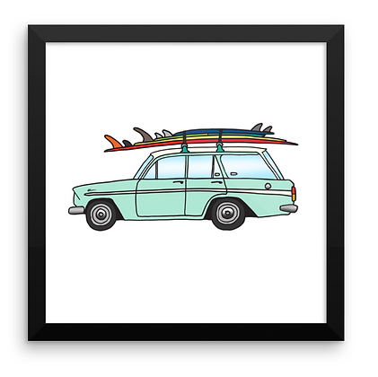 Holden Wagon & Summer Quiver