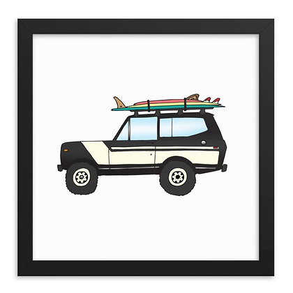 1978 International Scout & Three Board Quiver