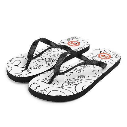 Peace & Shaka slippers