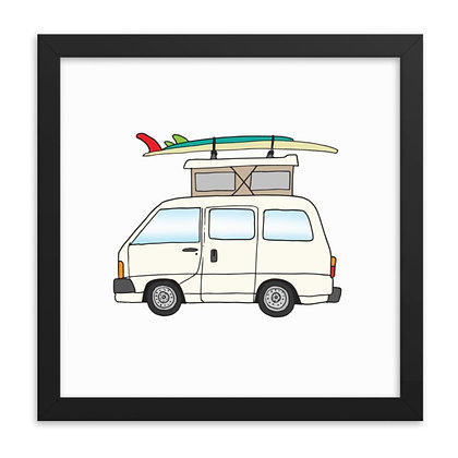 1990 Toyota Hiace pop-top & 2 board Quiver