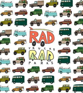 Rad Cars in Rad Parks