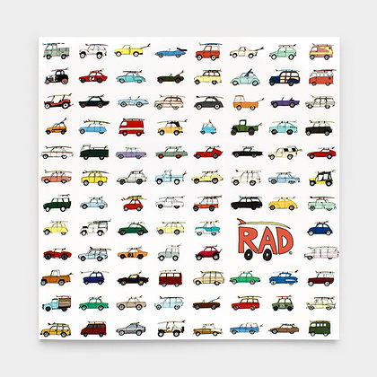 Rad Cars With Rad Surfboards Book