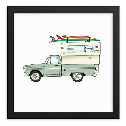 1970 Ford F150 Camper Special & Travel Quiver