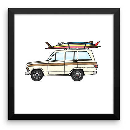 Jeep Wagoneer & Family Quiver