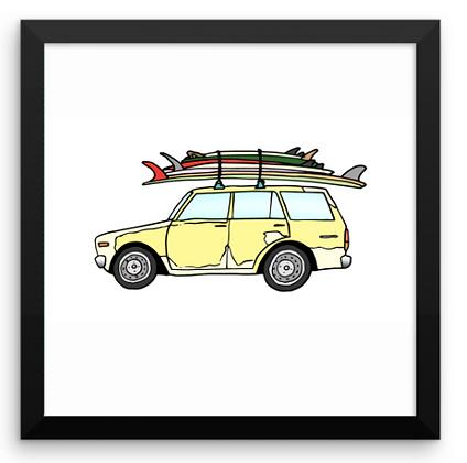 1984 Datsun Wagon & Summer Quiver